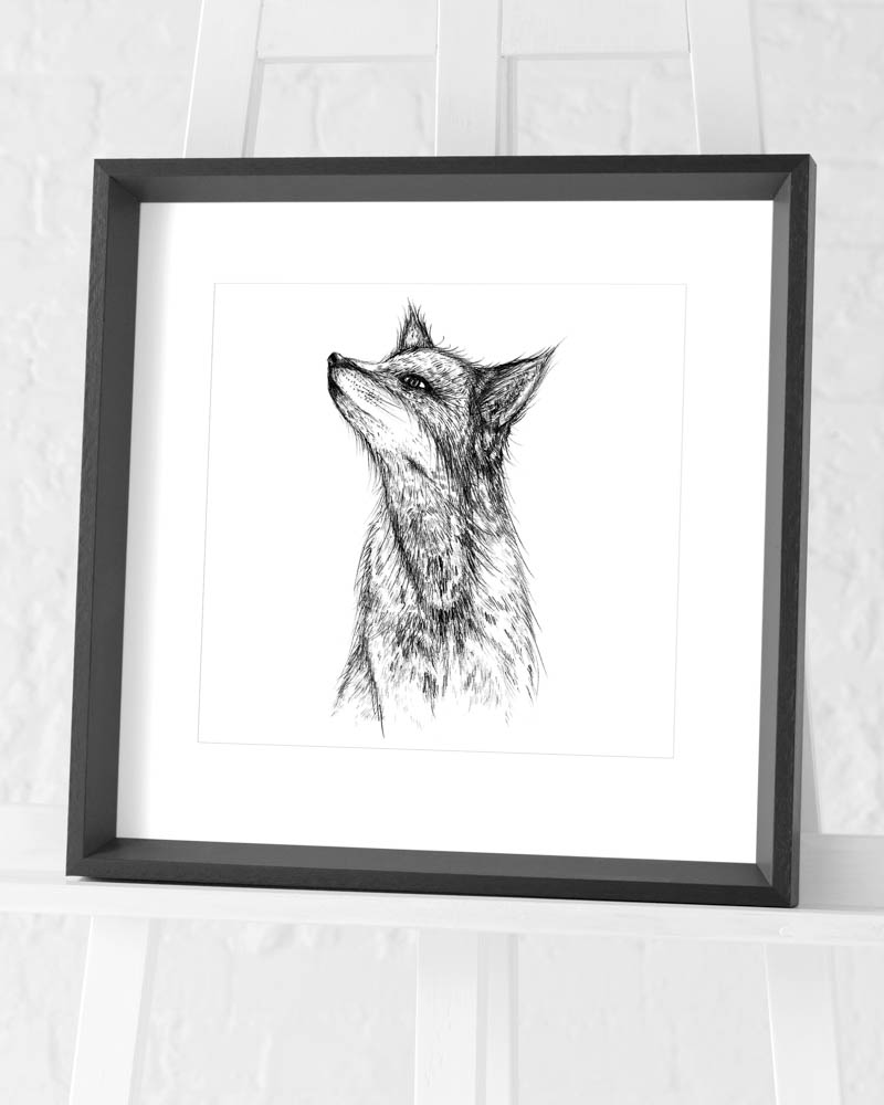 Sofie Rolfsdotter (Fox) Pre-Framed Art Prints