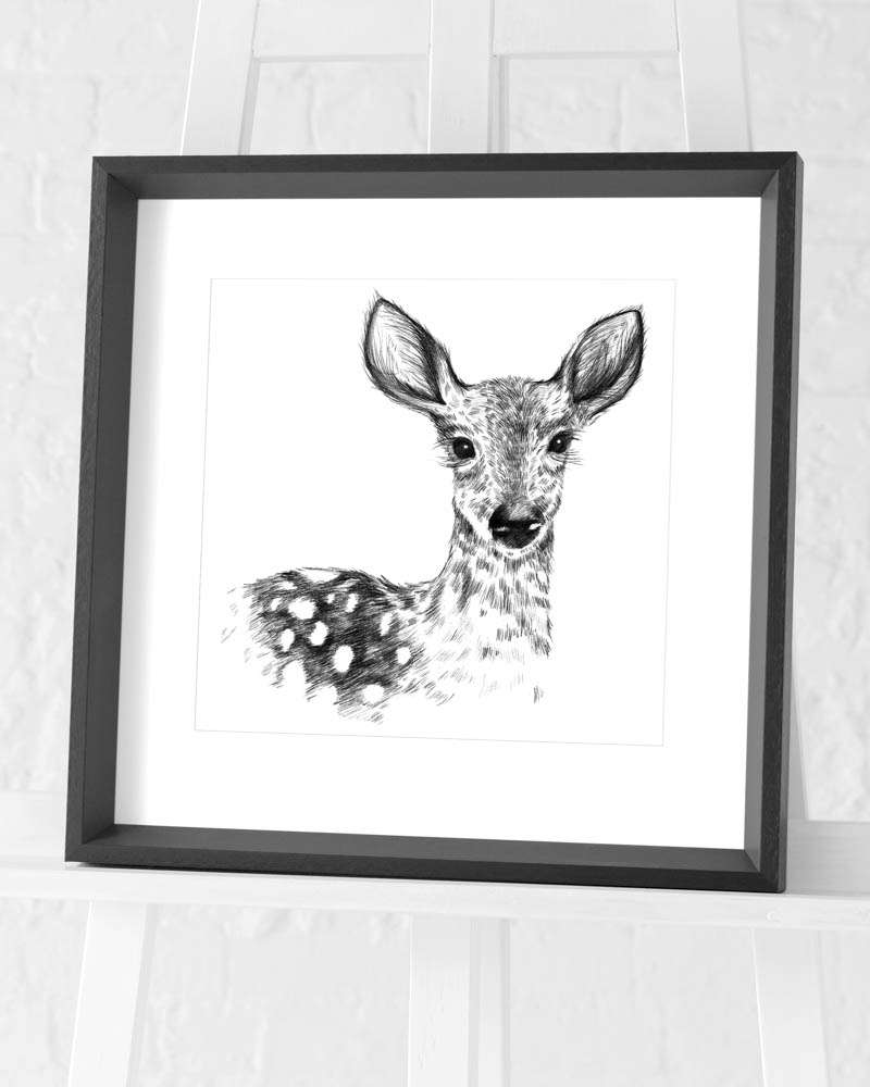 Sofie Rolfsdotter (Deer) Pre-Framed Art Prints