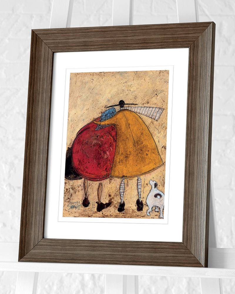Sam Toft (Hugs on the Way Home) Pre-Framed Art Prints