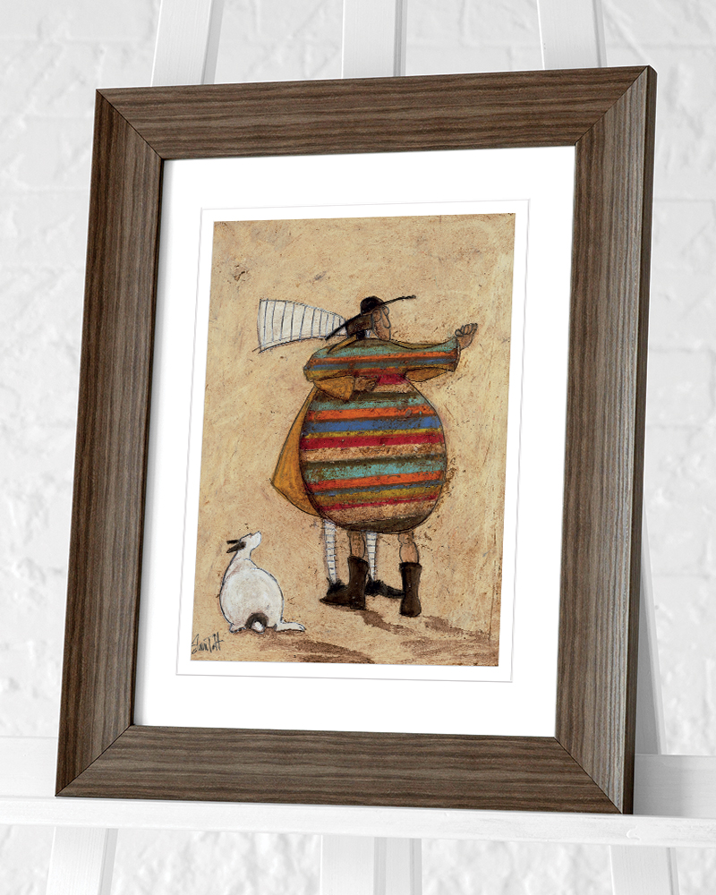 Sam Toft (Dancing Cheek to Cheeky) Pre-Framed Art Prints
