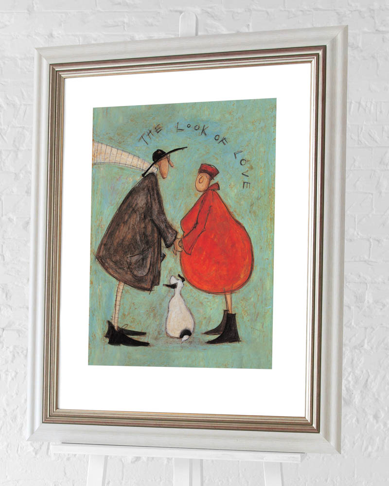 Sam Toft (The Look of Love) Pre-Framed Art Print