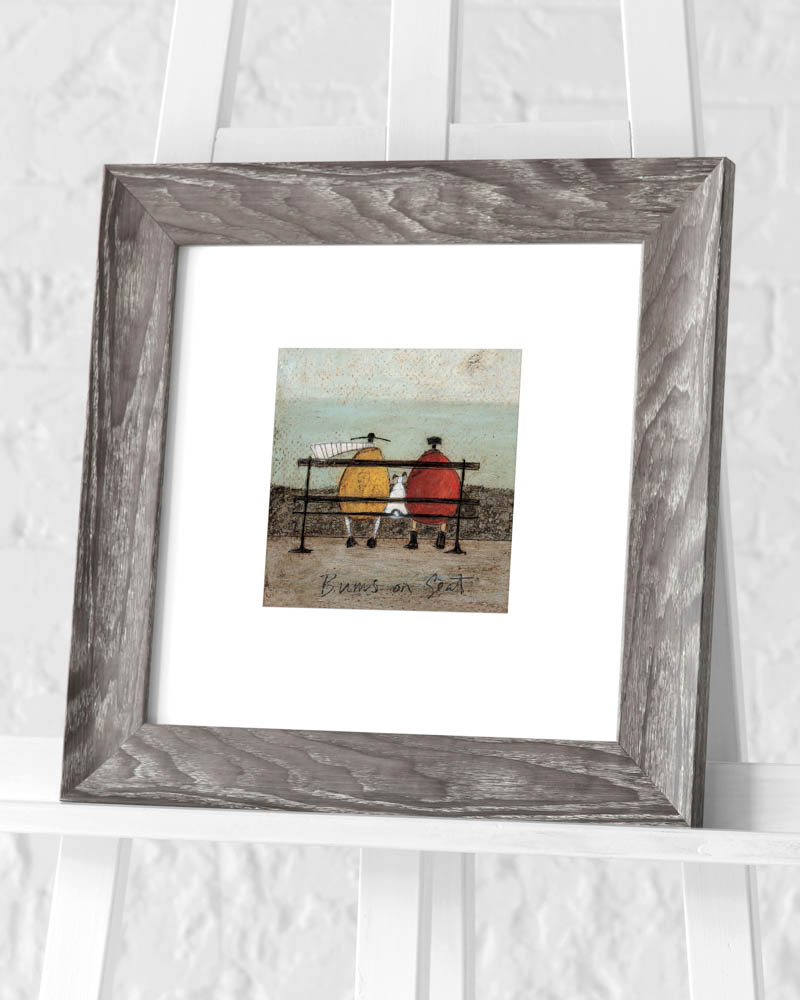 Sam Toft (Bums on Seat) Pre-Framed Art Print