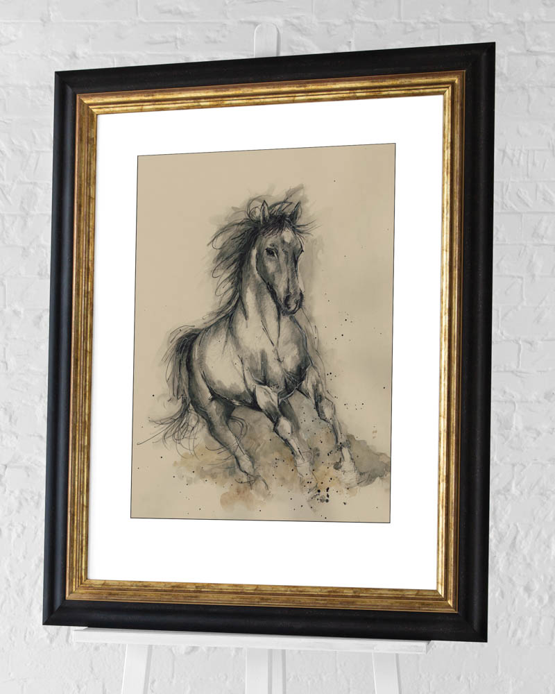 Sarah Stokes (Missy in Motion) Pre-Framed Art Prints