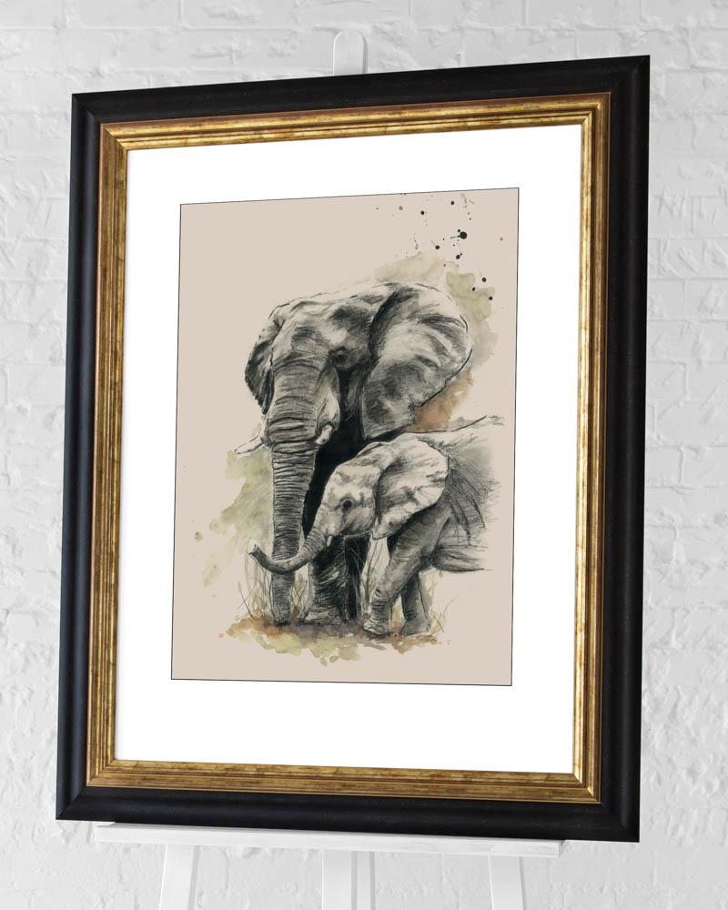 Sarah Stokes (Proud) Pre-Framed Art Print