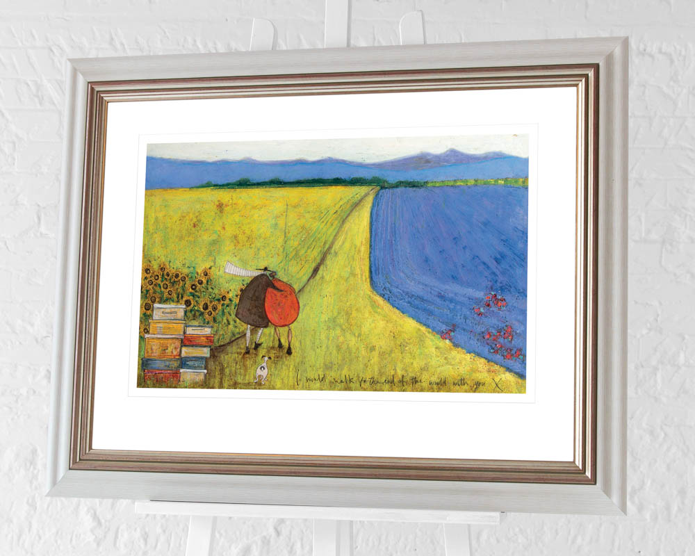 Sam Toft (I Would Walk To The End Of The World With You) Pre-Framed Art Print