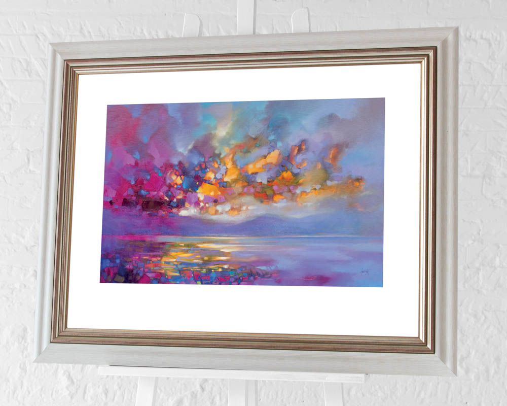Scott Naismith (Magenta Refraction) Pre-Framed Art Prints