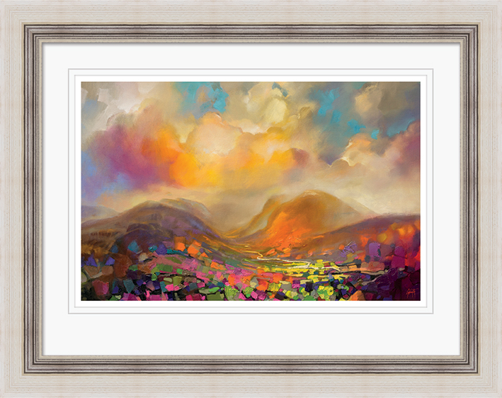Scott Naismith (Nevis Range Colour) Pre-Framed Prints