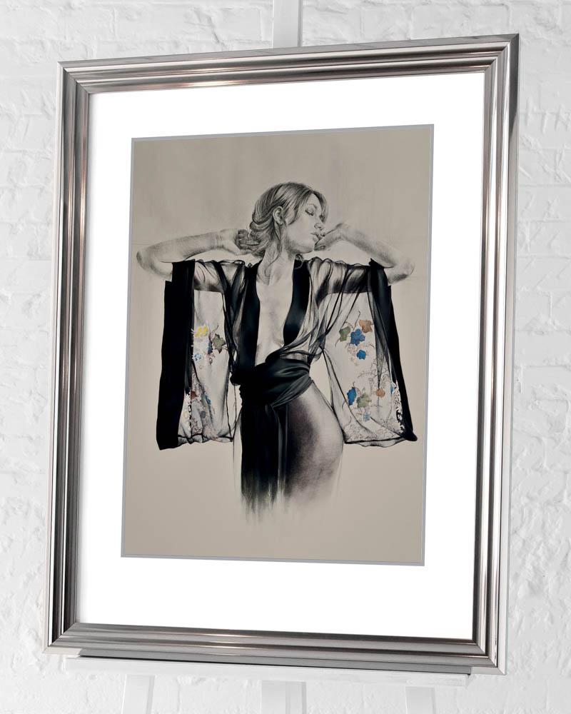 T. Good (Kimono) Pre-Framed Art Prints