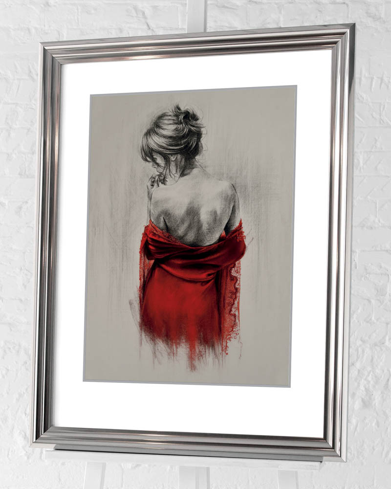 T. Good (Red XXXVIII) Pre-Framed Art Print