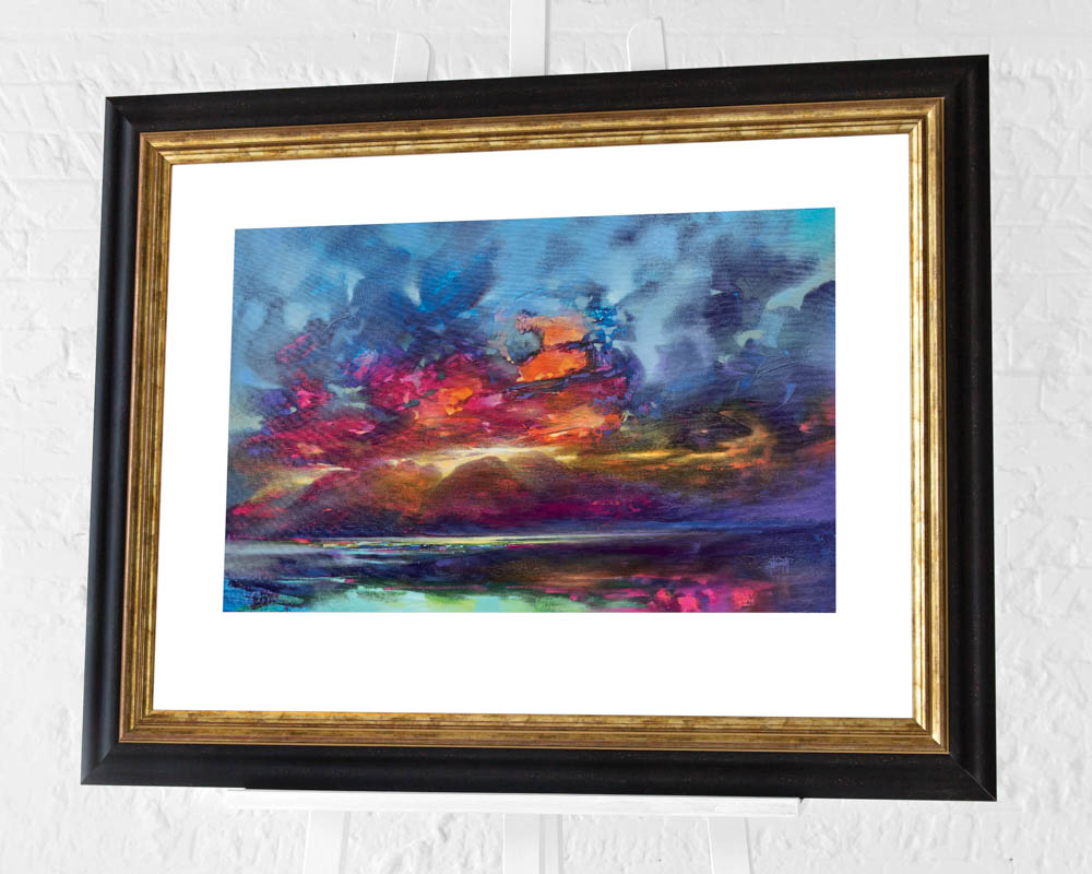 Scott Naismith (Island Light) Pre-Framed Art Print