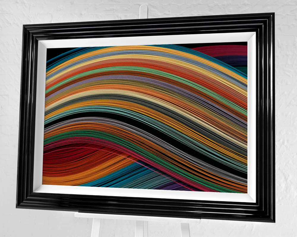 Symphony Pre-Framed Art Print