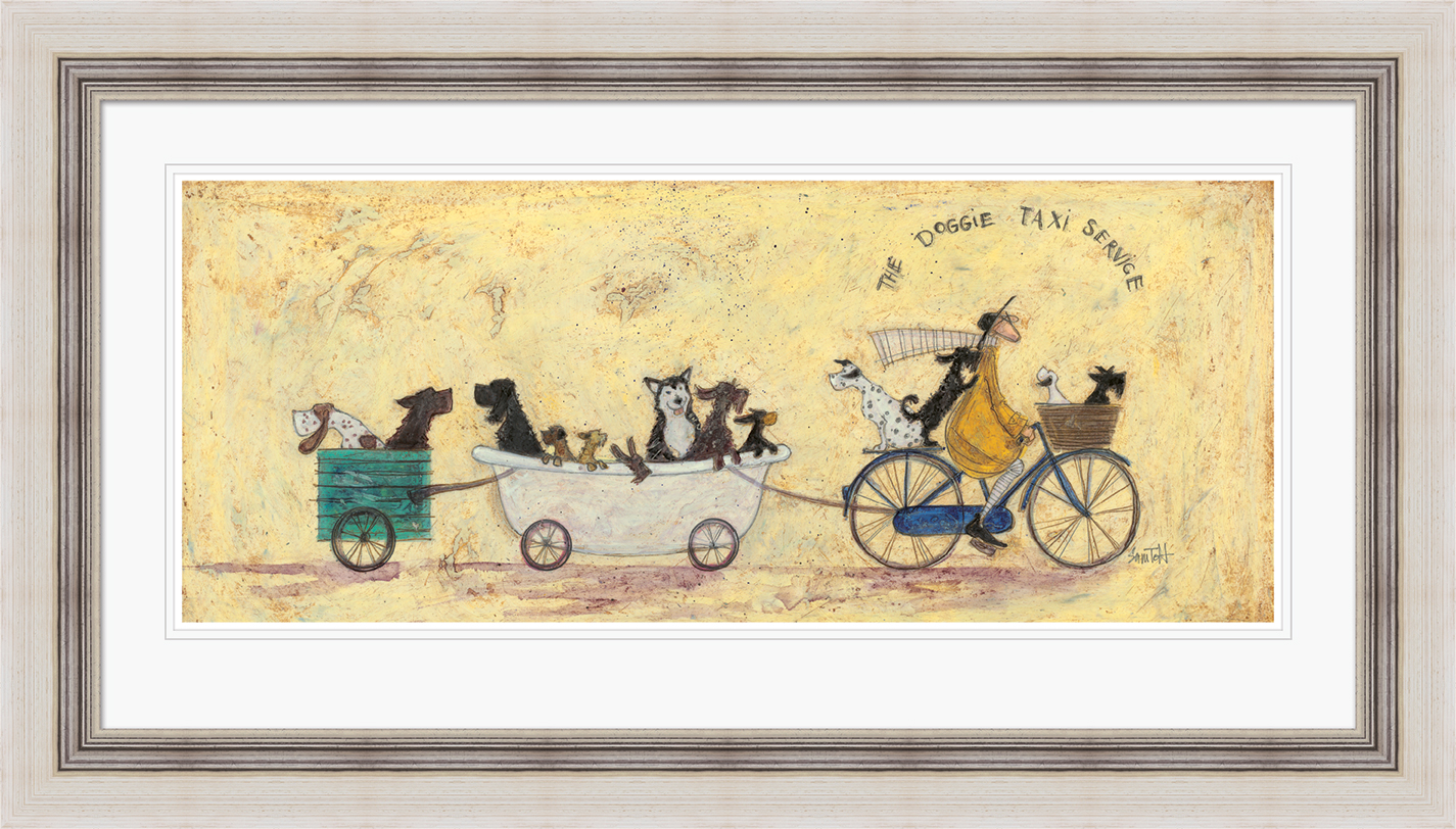 Sam Toft (The Doggie Taxi Service) Pre-Framed Prints