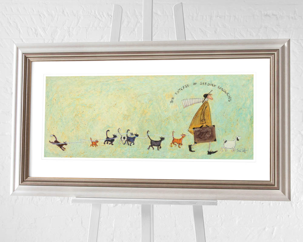 Sam Toft (The Suitcase of Sardine Sandwiches) Pre-Framed Prints