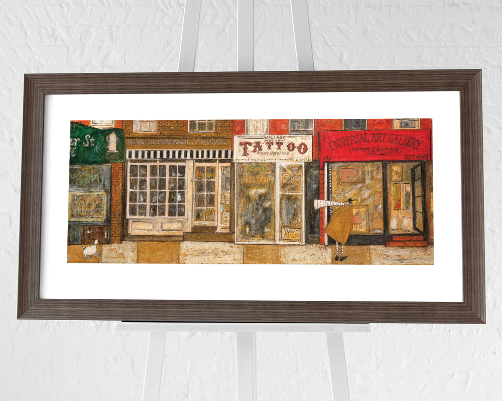 Sam Toft (On a Street Where You Live) Pre-Framed Art Prints