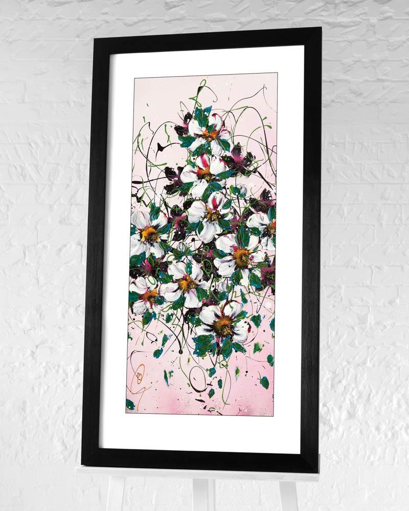Clare Sykes (Tumble Tiara) Pre-Framed Art Print