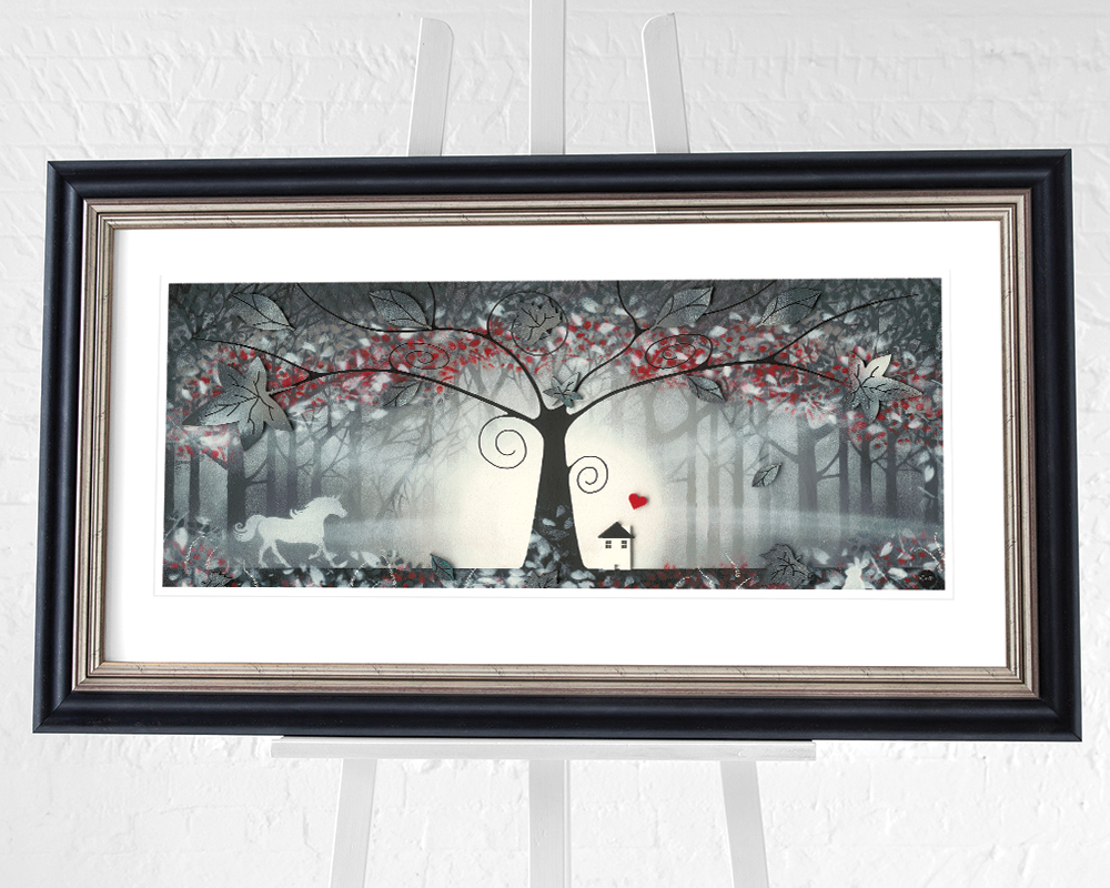 Garry Floyd (The Enchanted Forest I) Pre-Framed Art Print