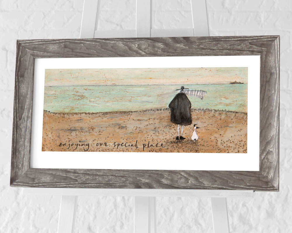 Sam Toft (Enjoying our Special Place) Pre-Framed Art Prints
