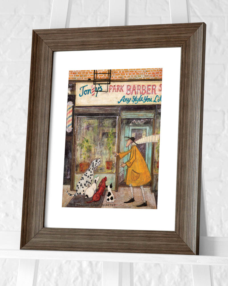 Sam Toft (The Barber Shop Quartet) Pre-Framed Art Print
