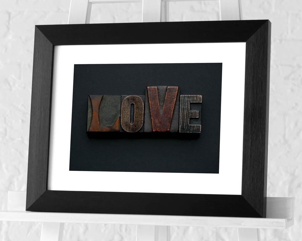 Alyson Fennell (Love) Pre-Framed Print