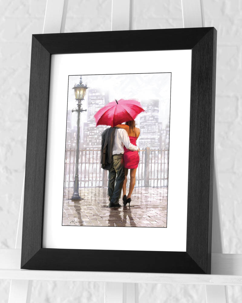 Richard Macneil (Bright Lights) Pre-Framed Art Print