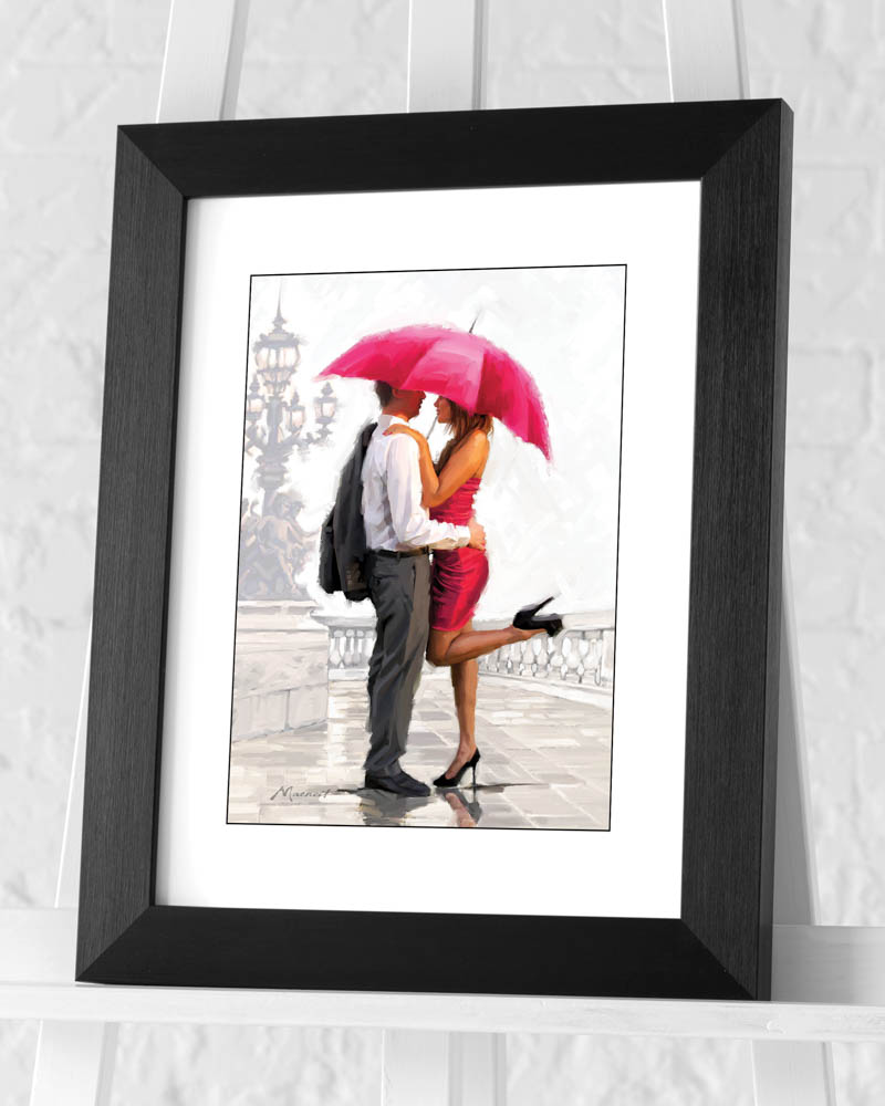 Richard Macneil (Cupid's Lantern) Pre-Framed Art Print
