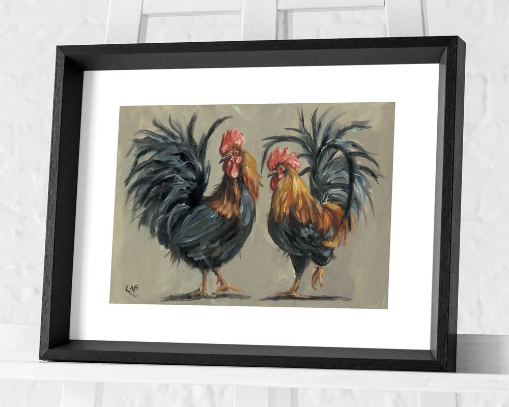 Louise Brown (Cock-a-Hoop) Pre-Framed Art Prints
