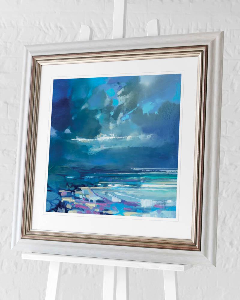 Scott Naismith (West Coast Blues I) Pre-Framed Art Print