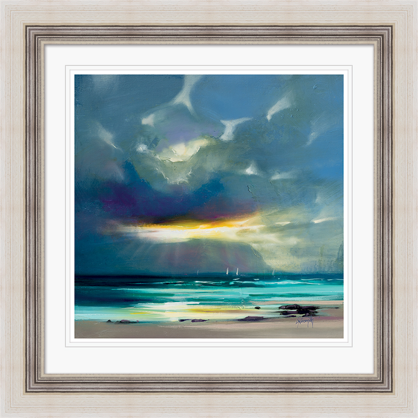 Scott Naismith (West Coast Blues II) Pre-Framed Print