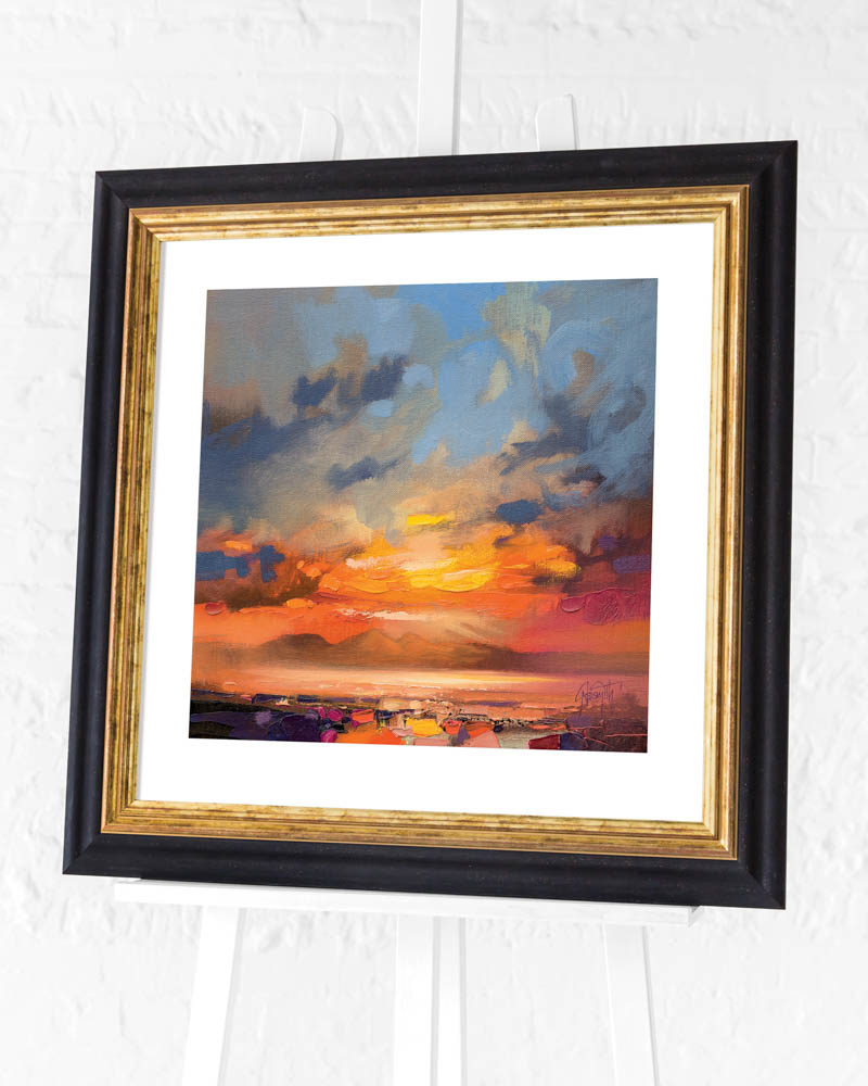 Scott Naismith (Rum Light Study) Pre-Framed Art Print