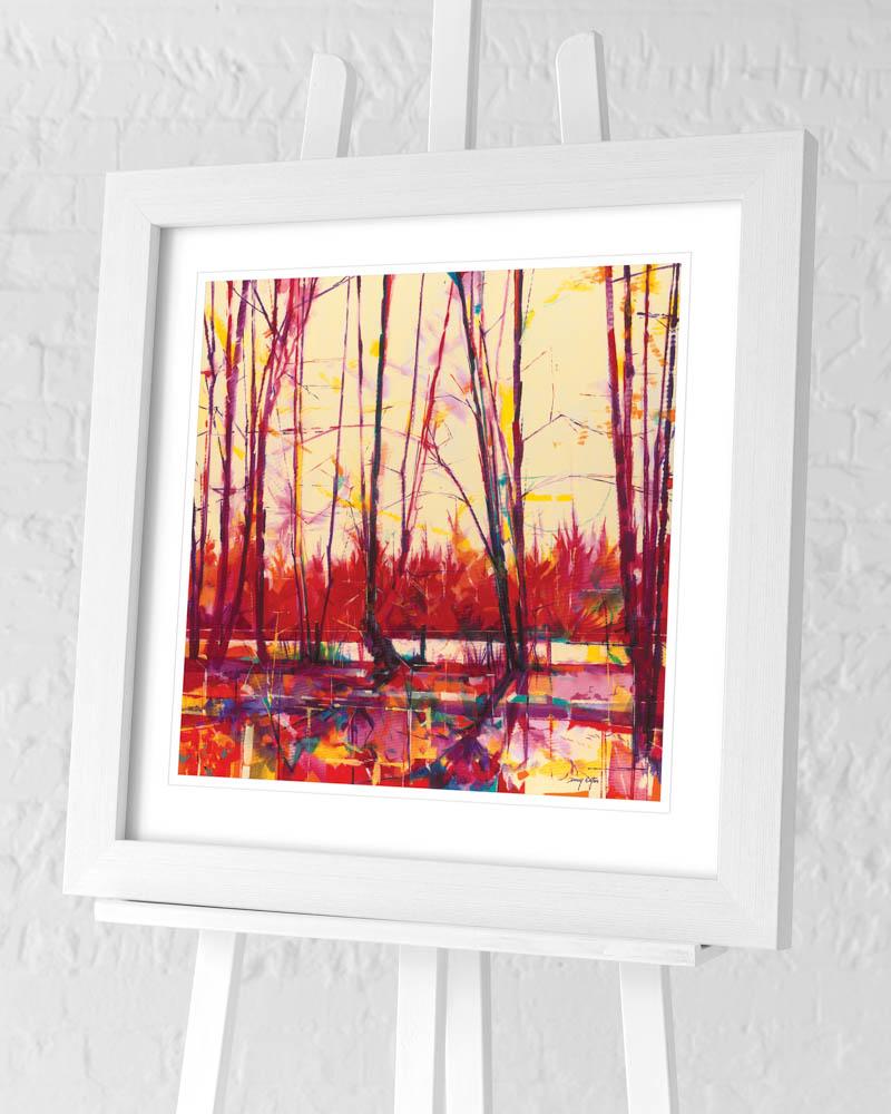 Doug Eaton (Old Hedgerow) Pre-Framed Art Prints
