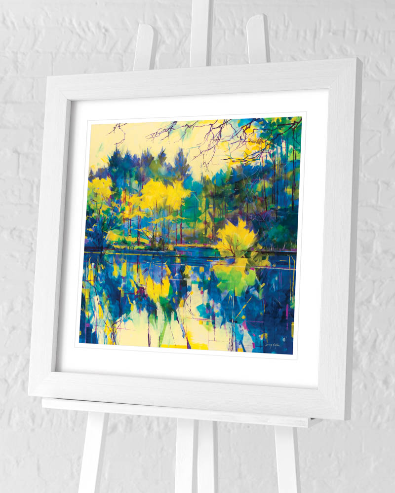 Doug Eaton (Calm Reflections) Pre-Framed Art Print
