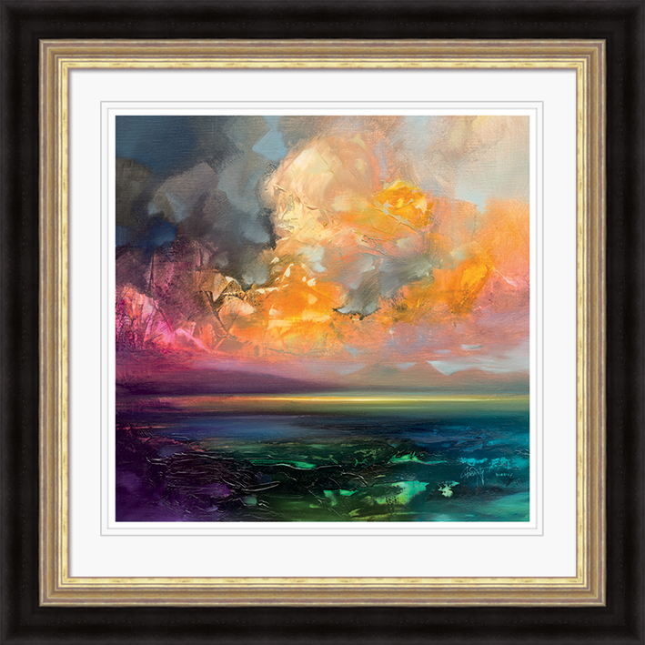 Scott Naismith (Isle of Jura Emerges) Pre-Framed Print