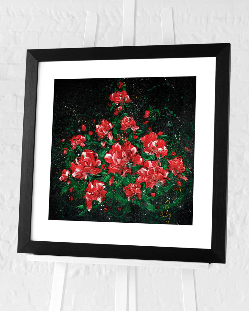 Clare Sykes (Love Rocks) Pre-Framed Art Print