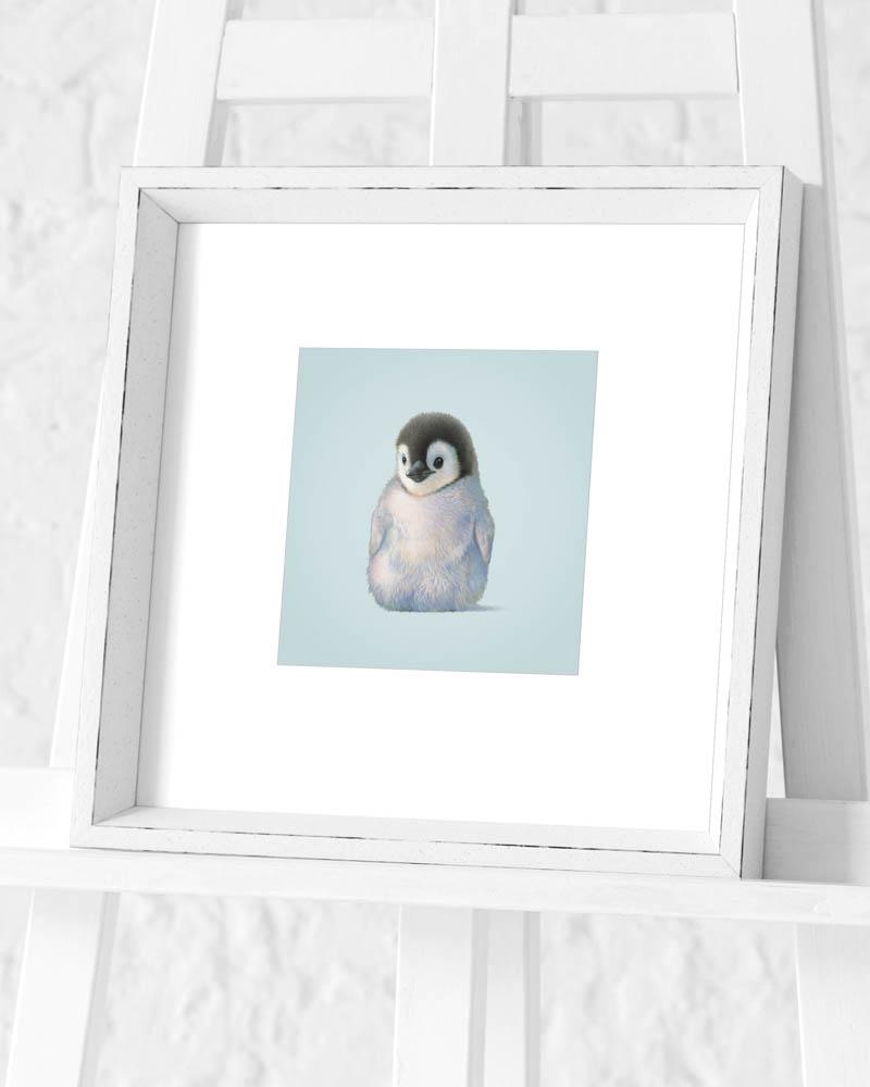 John Butler (Penguin) Pre-Framed Art Print