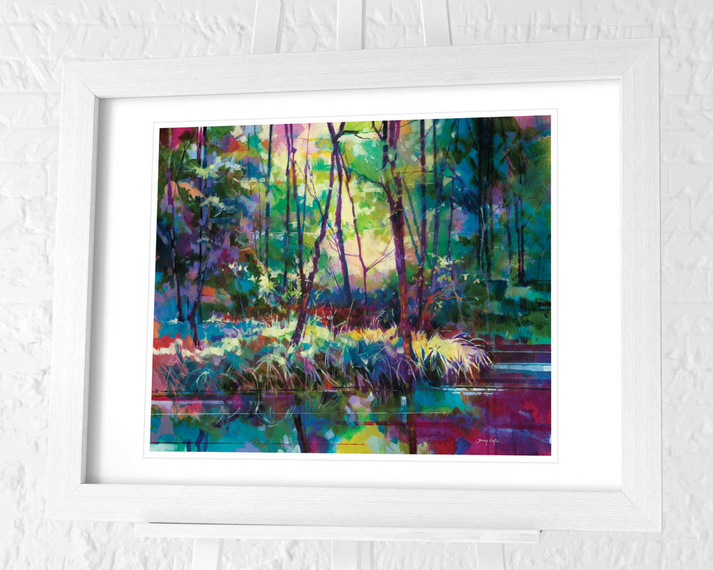 Doug Eaton (Brick Yard Pond) Pre-Framed Art Print