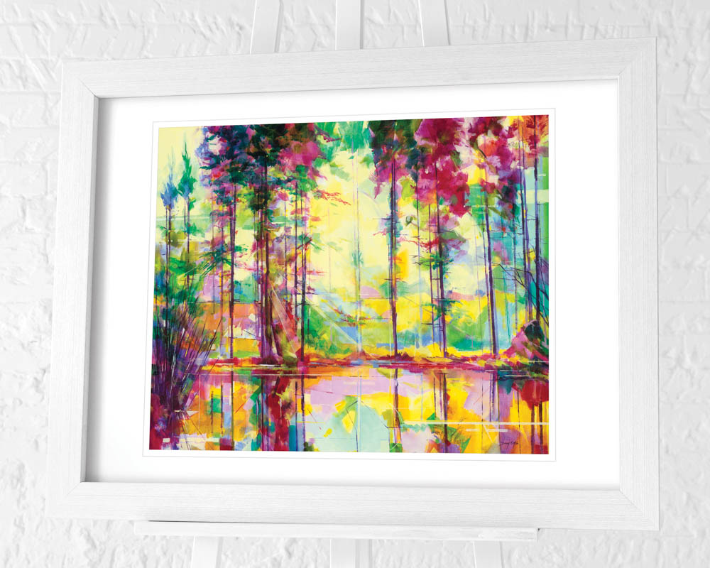 Doug Eaton (Meadowcliff Morning) Pre-Framed Art Print