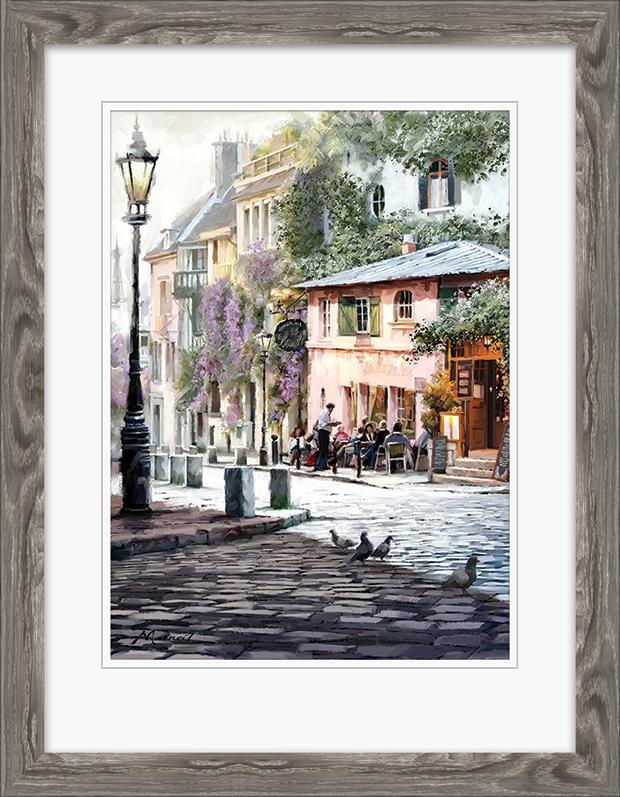 Richard Macneil (Sunshine Café) Pre-Framed Print