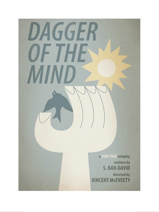 Star Trek (Dagger Of The Mind) Art Print