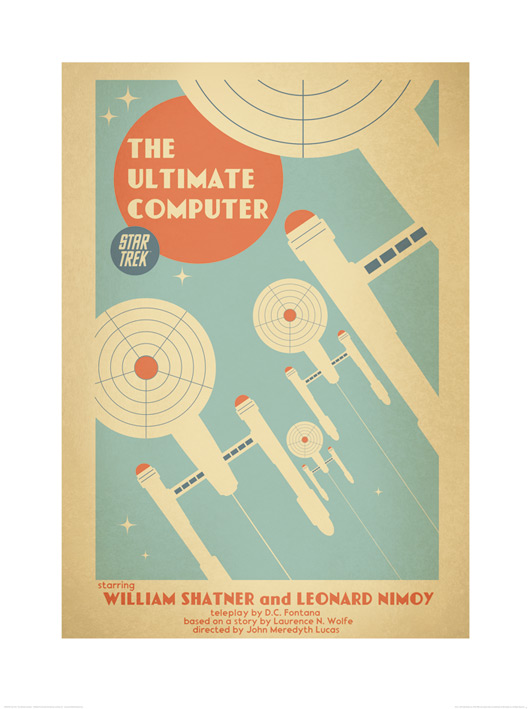 Star Trek (The Ultimate Computer) Art Prints