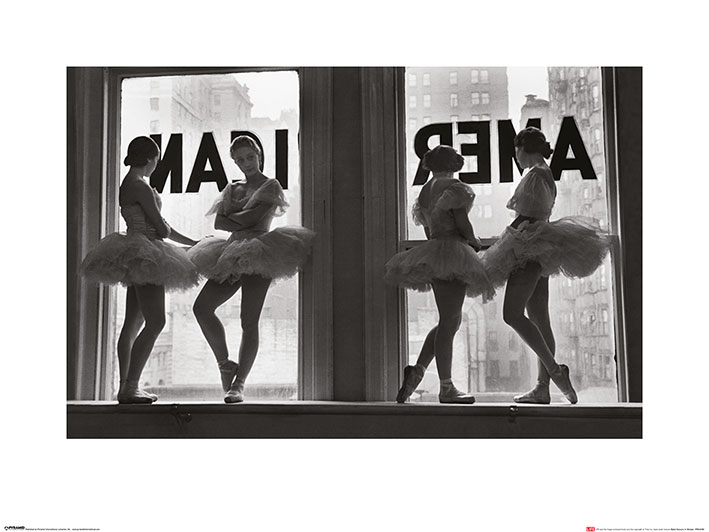 Time Life (Ballet Dancers in Window) Art Prints