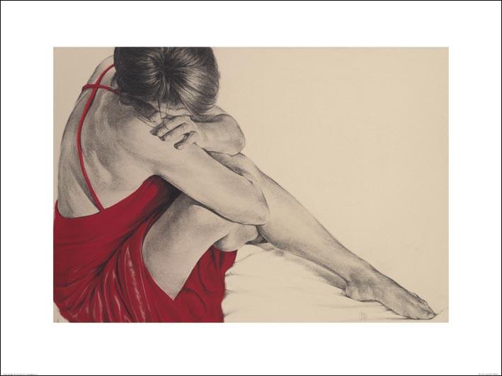 T. Good (Red III) Art Print