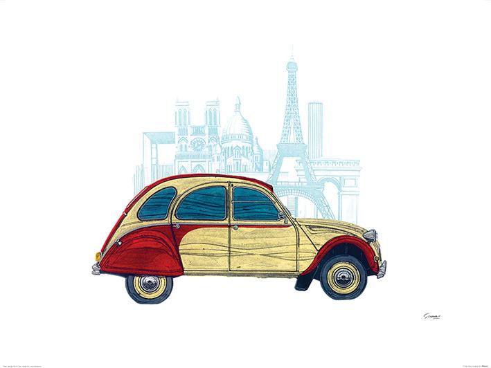 Barry Goodman (CV Paris) Art Prints