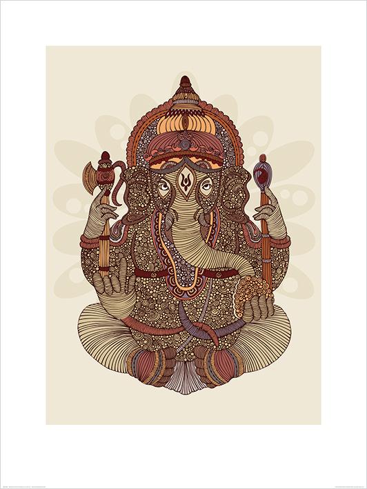 Valentina Ramos (Ganesha) Art Print
