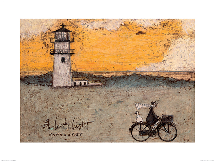 Sam Toft (A Lovely Light, Nantucket) Art Print