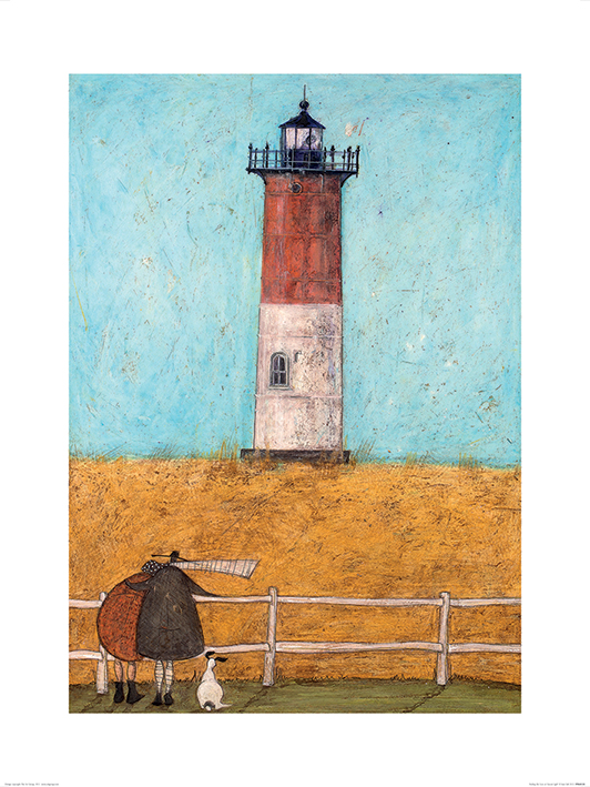 Sam Toft (Feeling the Love at Nauset Light) Art Prints
