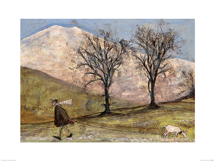 Sam Toft (Walking with Mansfield) Art Prints