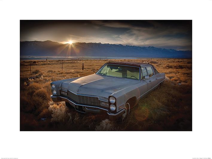 Rod Edwards (Last Light - Keeler, California) Art Print