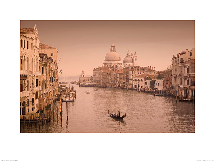 Rod Edwards (Canal Grande, Venice II) Art Prints