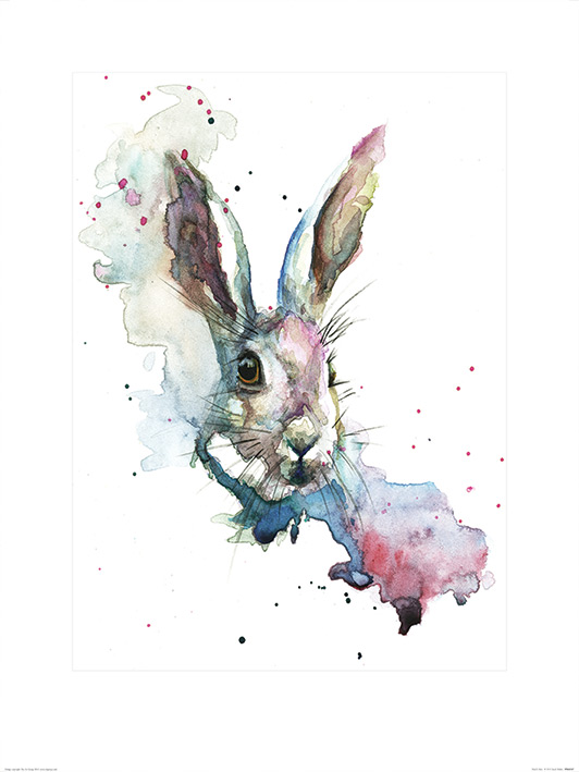 Sarah Stokes (March Hare) Art Print
