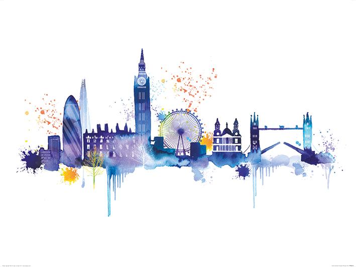 Summer Thornton (London Skyline) Art Prints